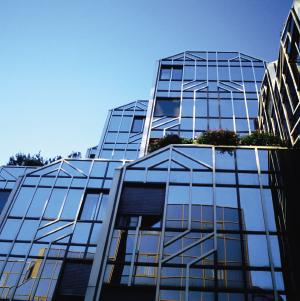 Un immeuble conçu en fonction des principes de la géobiologie et de la radiesthésie
